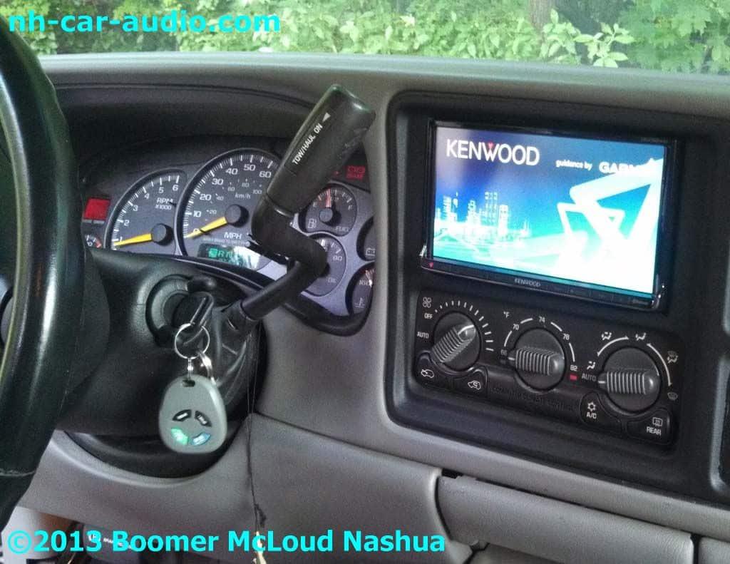 2001 Chevy Silverado Double Din Boomer Nashua Mobile