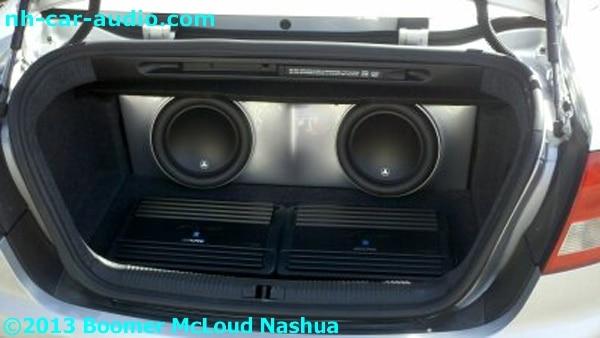 Audi S4 Convertible Fiberglass Subwoofer Enclosure