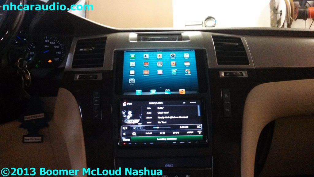 Escalade Ipad Dash Custom Installation Multimedia Boomer