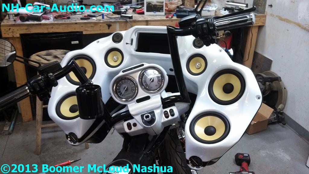 Remote Car Starter App >> Harley-flame-custom-painted-speaker-fiberglass - Boomer ...