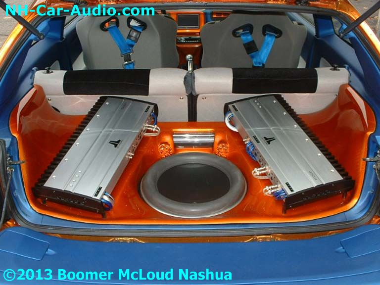 Honda Civic Custom Stereo Boomer Nashua Mobile Electronics