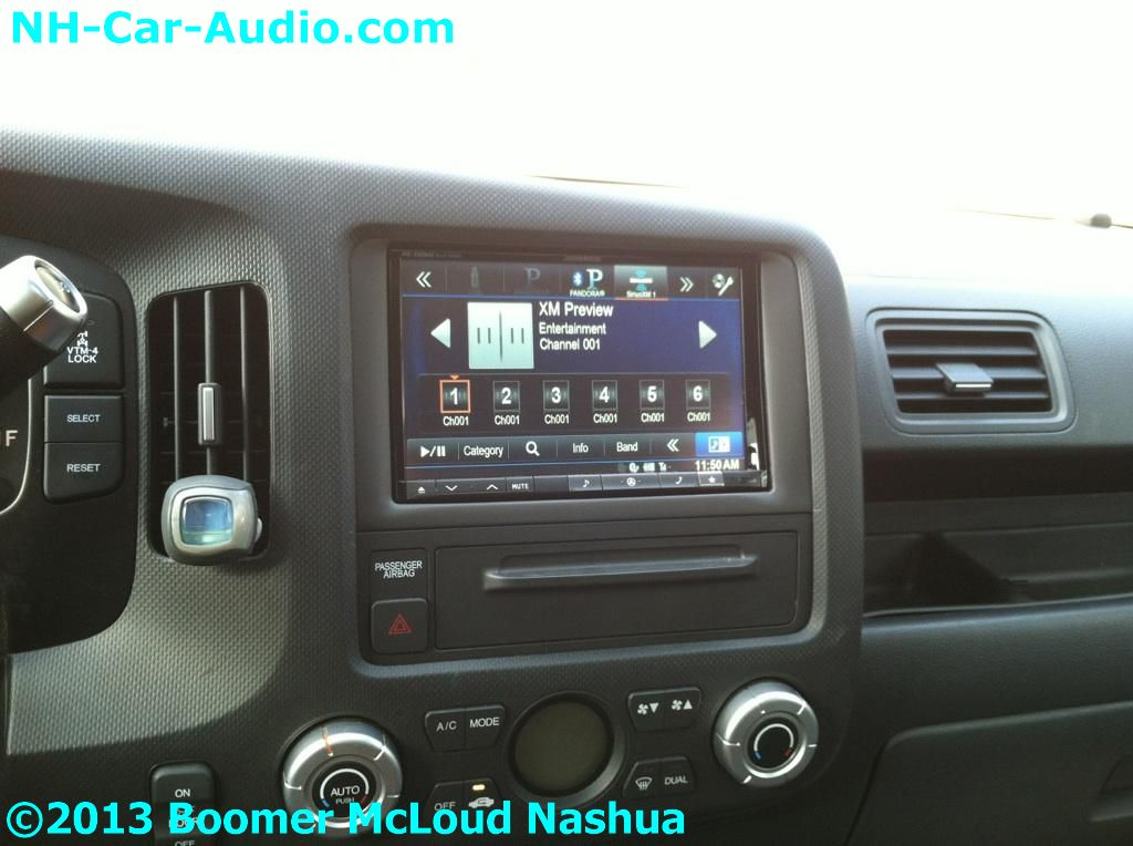 Honda-ridgeline-custom-lcd-navigation-eight-inch-alpine ...
