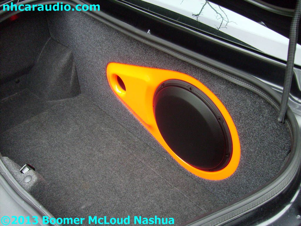 JL-Audio-Custom-Dodge-Charger-subwoofer-enclosure-paint