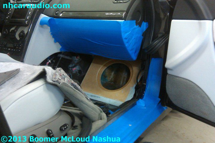 Maserati-custom-subwoofer-enclosure