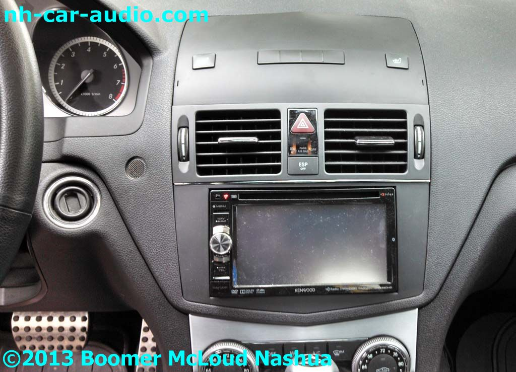 Mercedes c300 multimedia navigation bluetooth ipod upgrade for Mercedes benz stereo upgrade