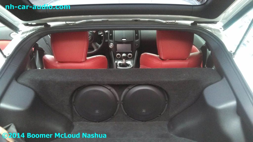Nissan 370z Custom Jl Audio Subwoofer Enclosure Stealthbox