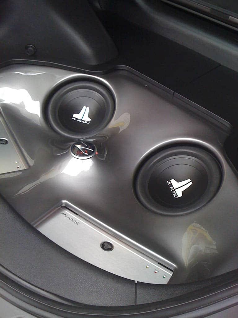 Nashua Nissan Nissan-370z-custom-fiberglass-trunk-subwoofer-amplifier ...