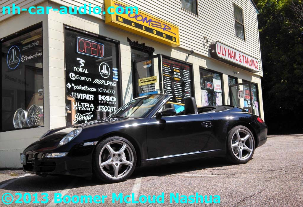Porsche-911-Carrera-navigation-stereo-upgarde