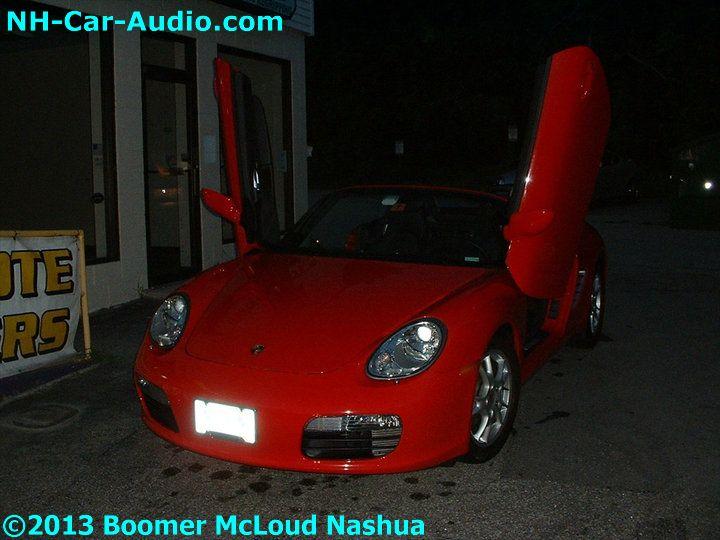 Porsche Boxster Lambo Door Vertical Conversion Boomer