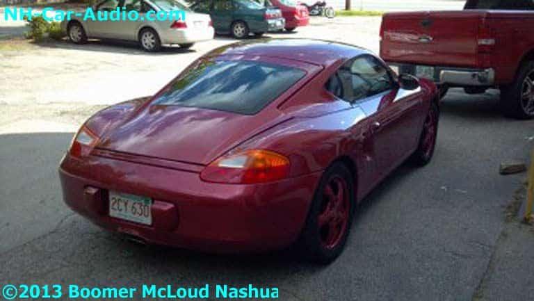 Porsche Boxster Custom Fiberglass Top Boomer Nashua