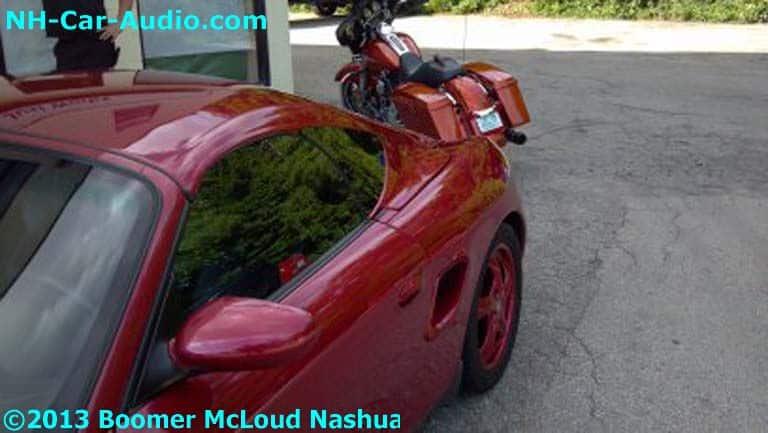 Porsche Boxster Custom Roof Boomer Nashua Mobile Electronics