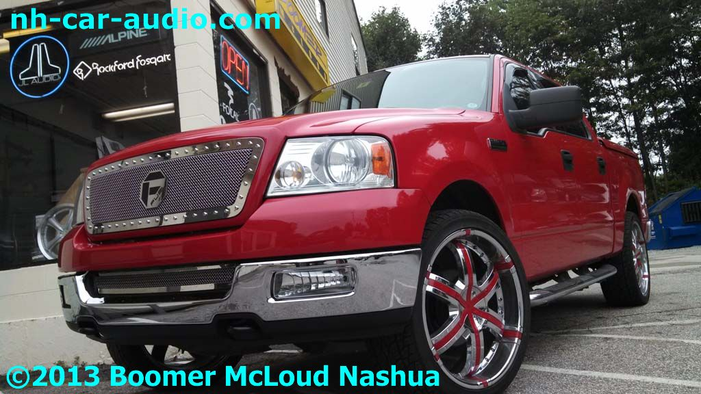 Ford-F-150-Custom-grille-installed