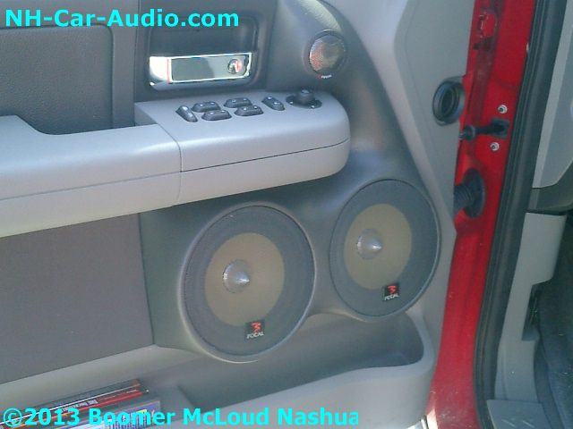 Ford F150 Custom Fiberglass Door Panel Speaker Boomer