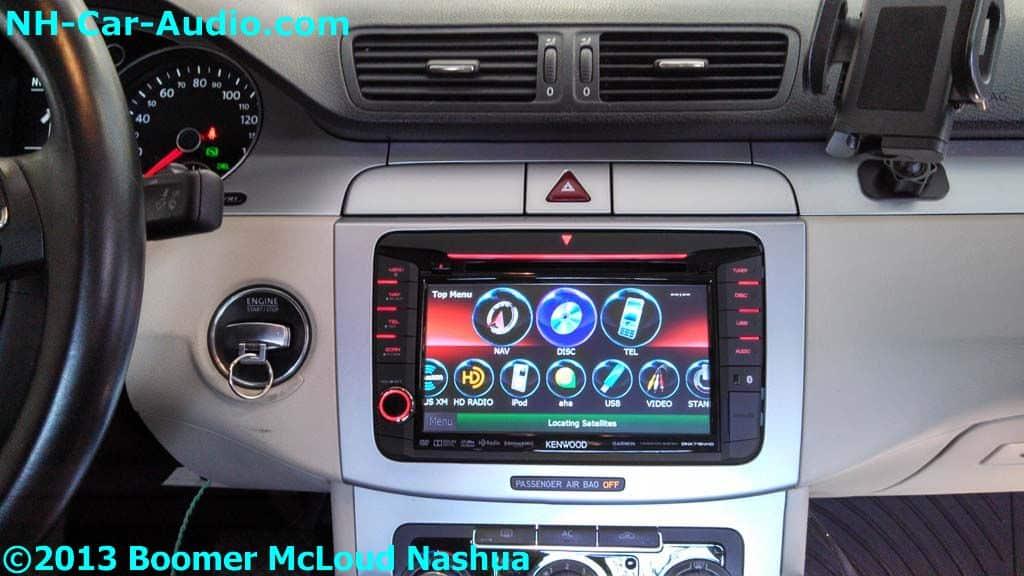 Vw Cc Multimedia Kenwood Custom Fit Navigation Bluetooth