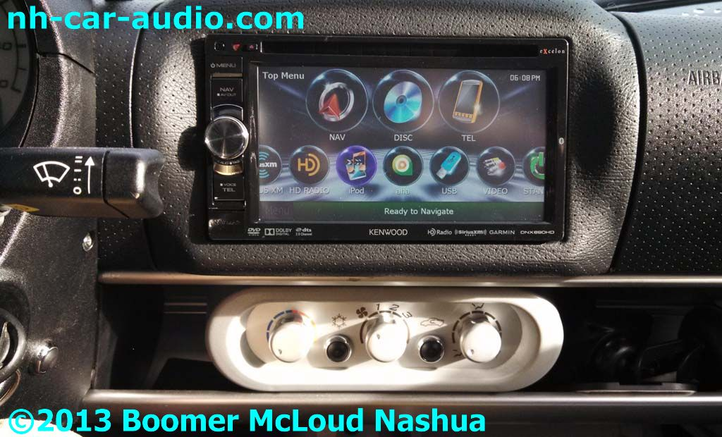 Lotus-Elise-custom-dash-double-din-radio