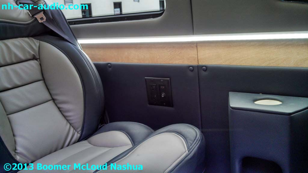 Mercedes Sprinter Van Custom Interior Boomer Nashua