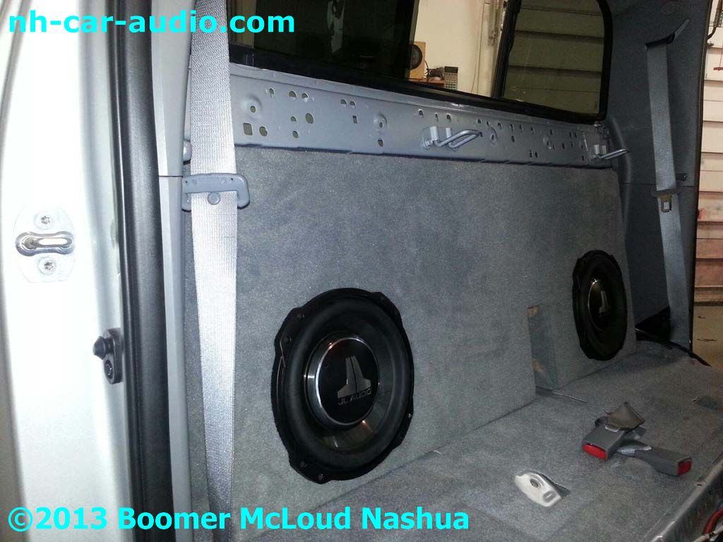 toyota tacoma dual 2011 10 inch sub enclosure boomer. Black Bedroom Furniture Sets. Home Design Ideas