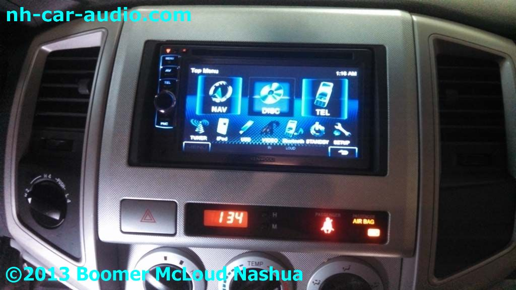 Toyota Tacoma Radio Replacement Kenwood Double Din