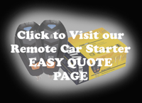 Remote Car Starter Easy Quote Page