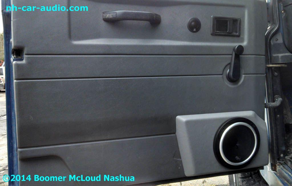 Defender Custom Door Speaker Panel Plastic Vinyl Wrapped & Defender Door - Sanfranciscolife