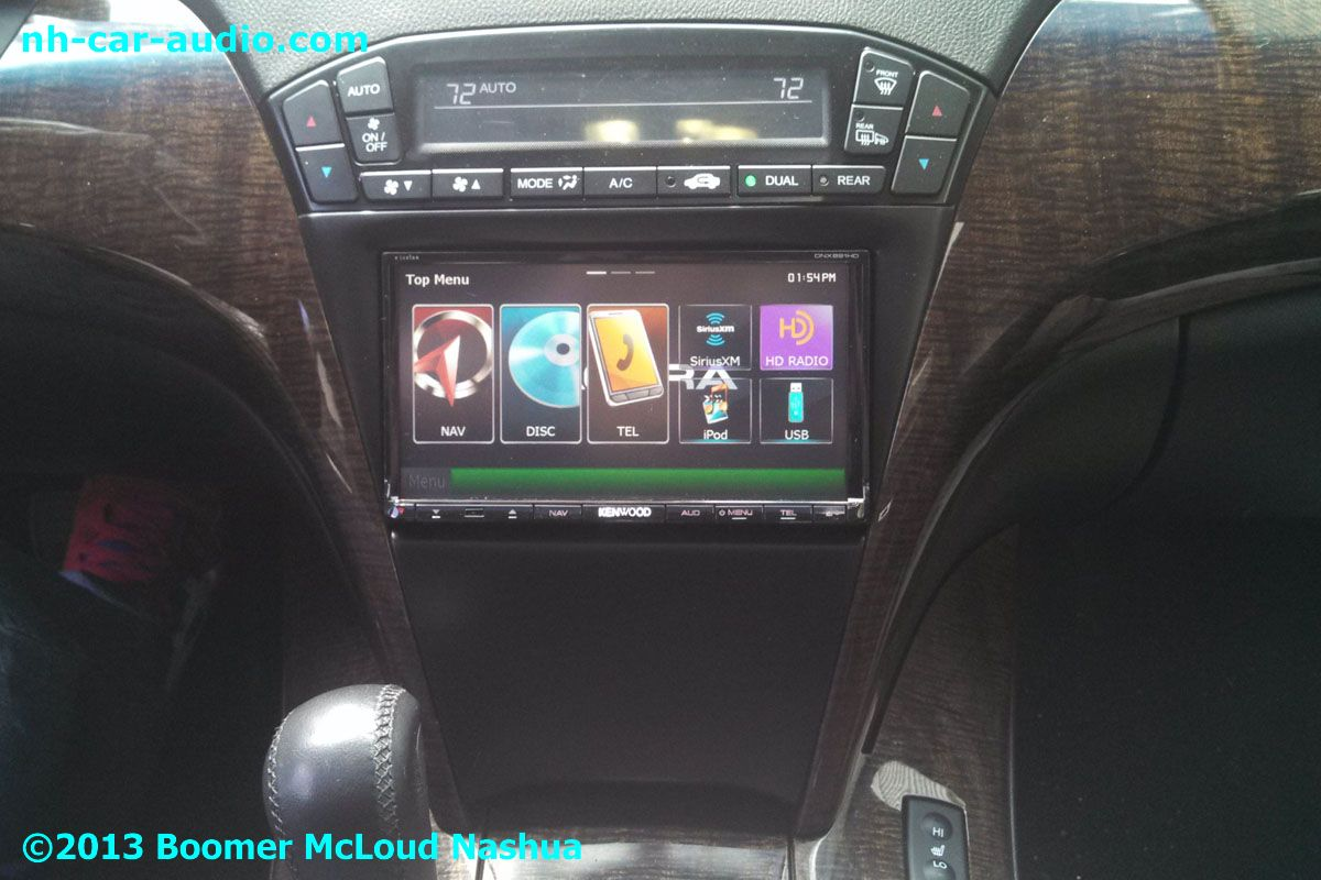 2012-Acura-MDX-double-din-aftermarket-radio-custom ...