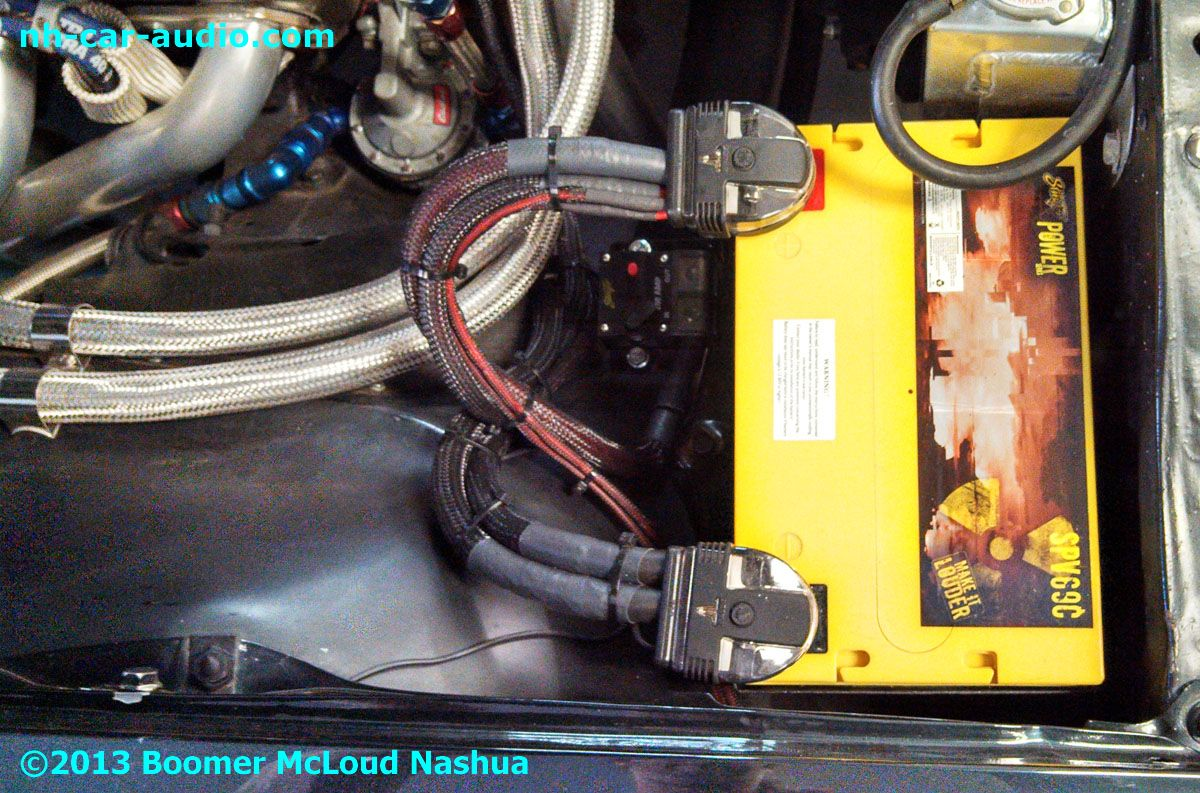 67-Camaro-Battery-upgrade-cable-installation
