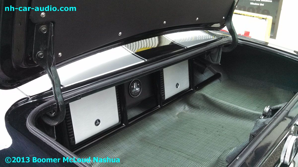 Chevy Belaire 1957 Custom Boomer Nashua Mobile Electronics 2000 Camaro Fuse Box 67 Powder Coated Floating Stereo Installation