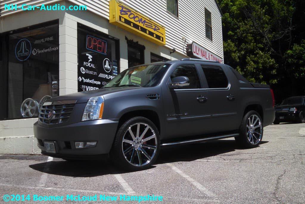 Escalade Custom Dub Wheels Wilwood Brakes Boomer Nashua