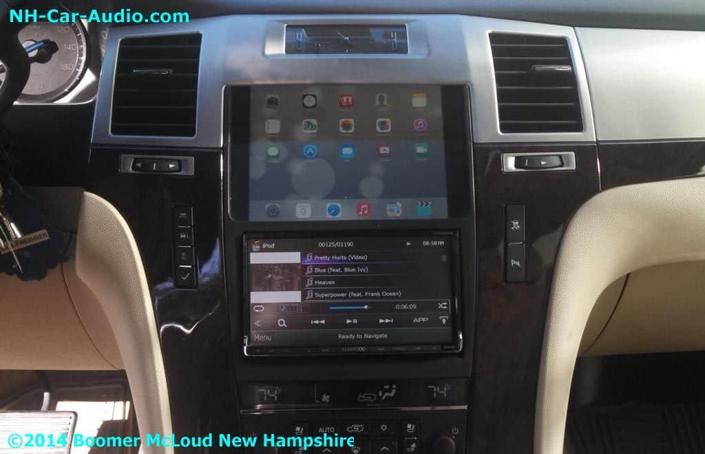 Escalade Custom Dash Boomer Nashua Mobile Electronics