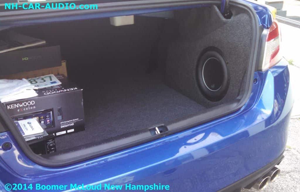 subaru wrx sti complete audio upgrade boomer nashua. Black Bedroom Furniture Sets. Home Design Ideas