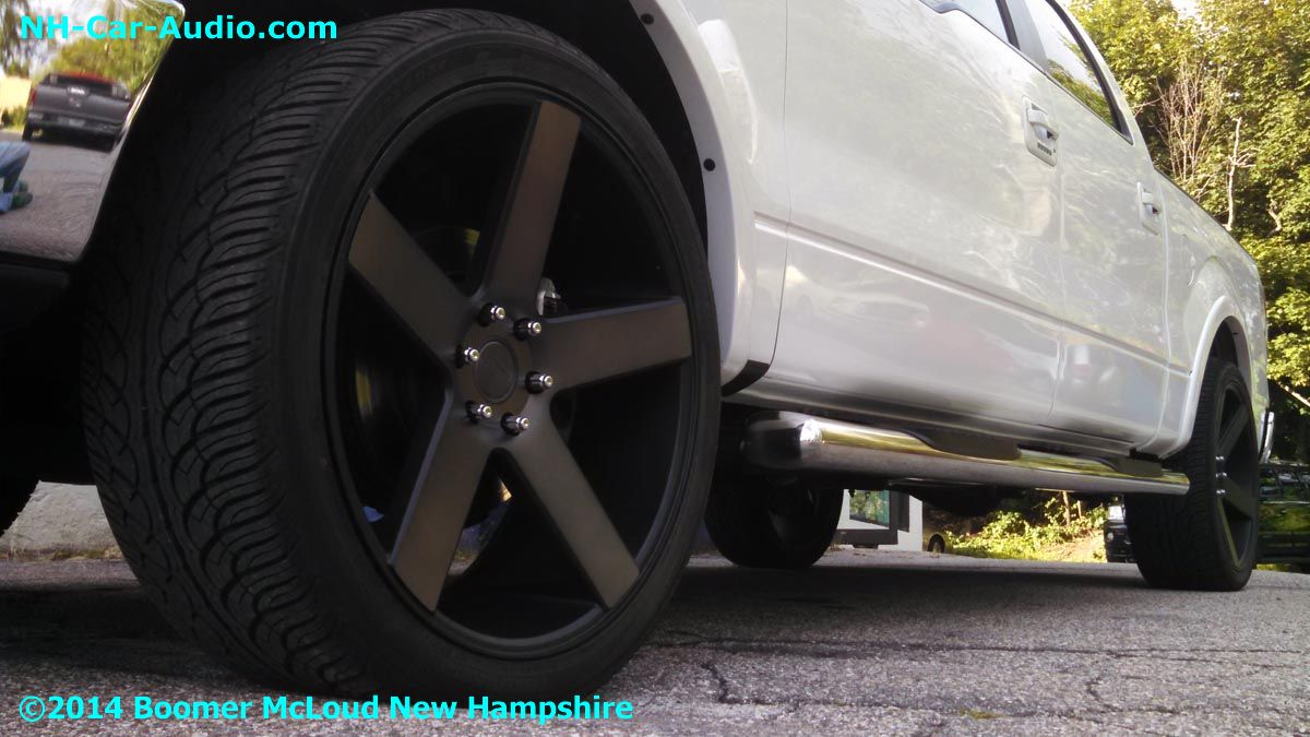 2014 Ford F150 24 Inch Custom Wheels And Tires Boomer