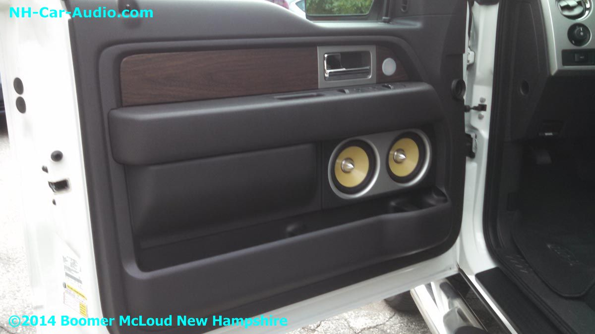 2014-Ford-F150-custom-door-panel - Boomer Nashua Mobile Electronics