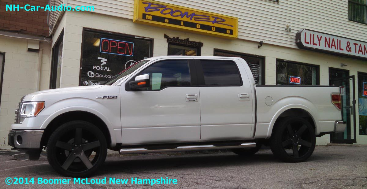 Car Starter App >> 2014-Ford-F150-leveled-on-24-inch-DUB's - Boomer Nashua Mobile Electronics
