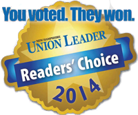 You Voted. They Won, Union Leader Reader's Choice 2014