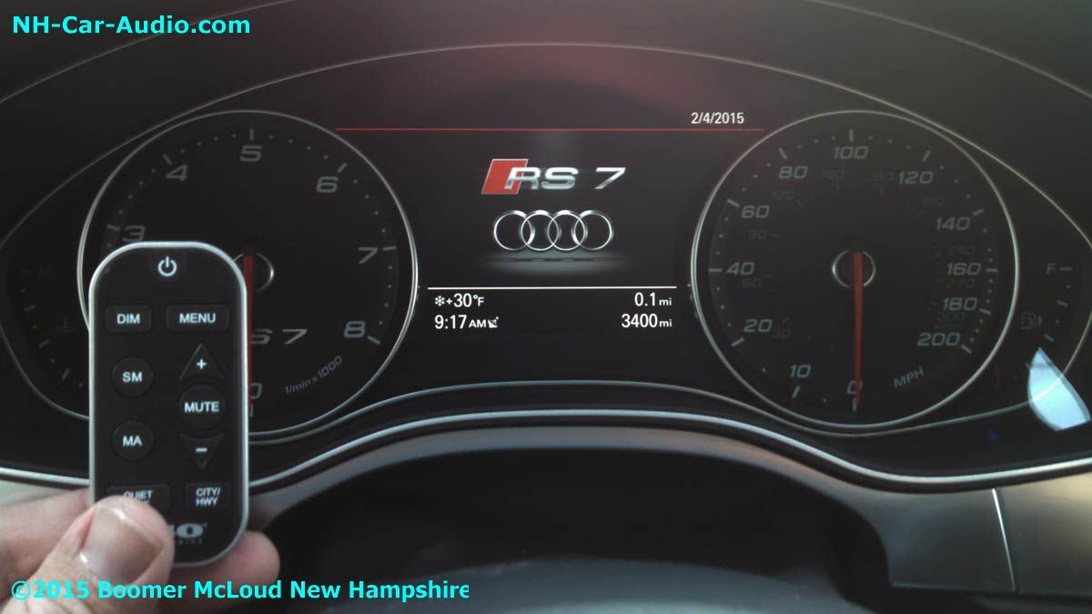 Audi Rs7 Laser Diffusion Premium Radar Boomer Nashua