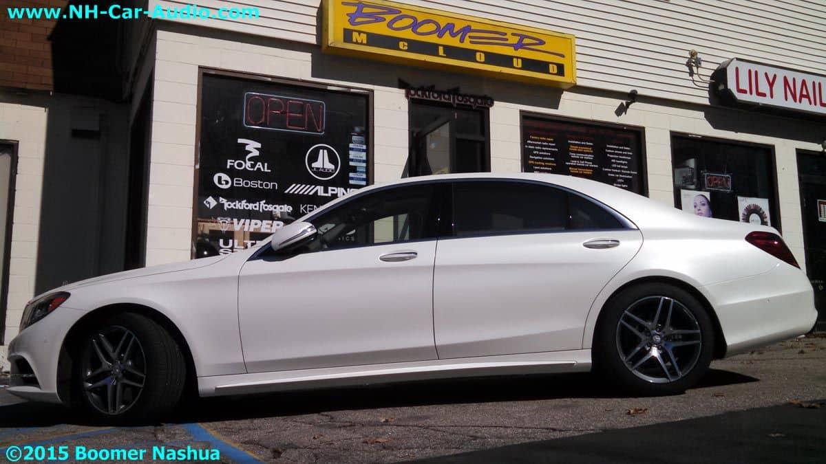 Mercedes-S550-premium-installation-K40