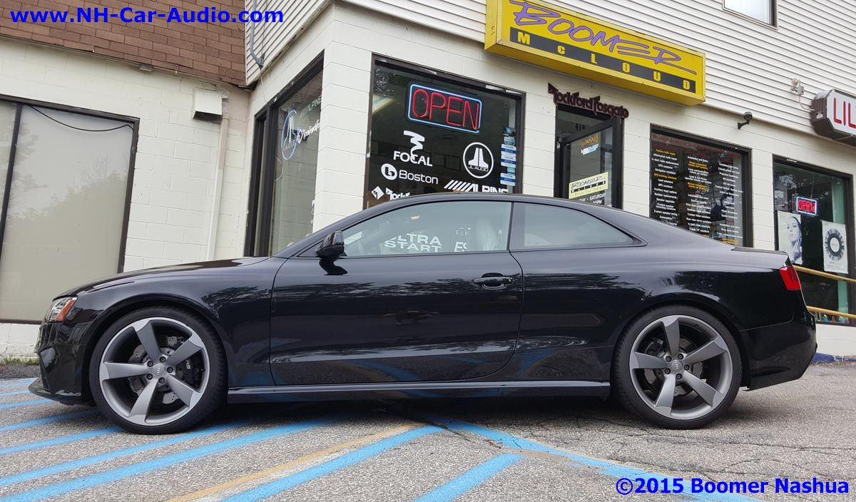 Audi Rs5 Mosconi Premium Processor Upgrade Boomer Nashua
