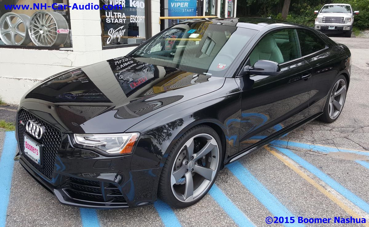 Audi Rs5 Premium Stealth Audio Upgrade Boomer Nashua