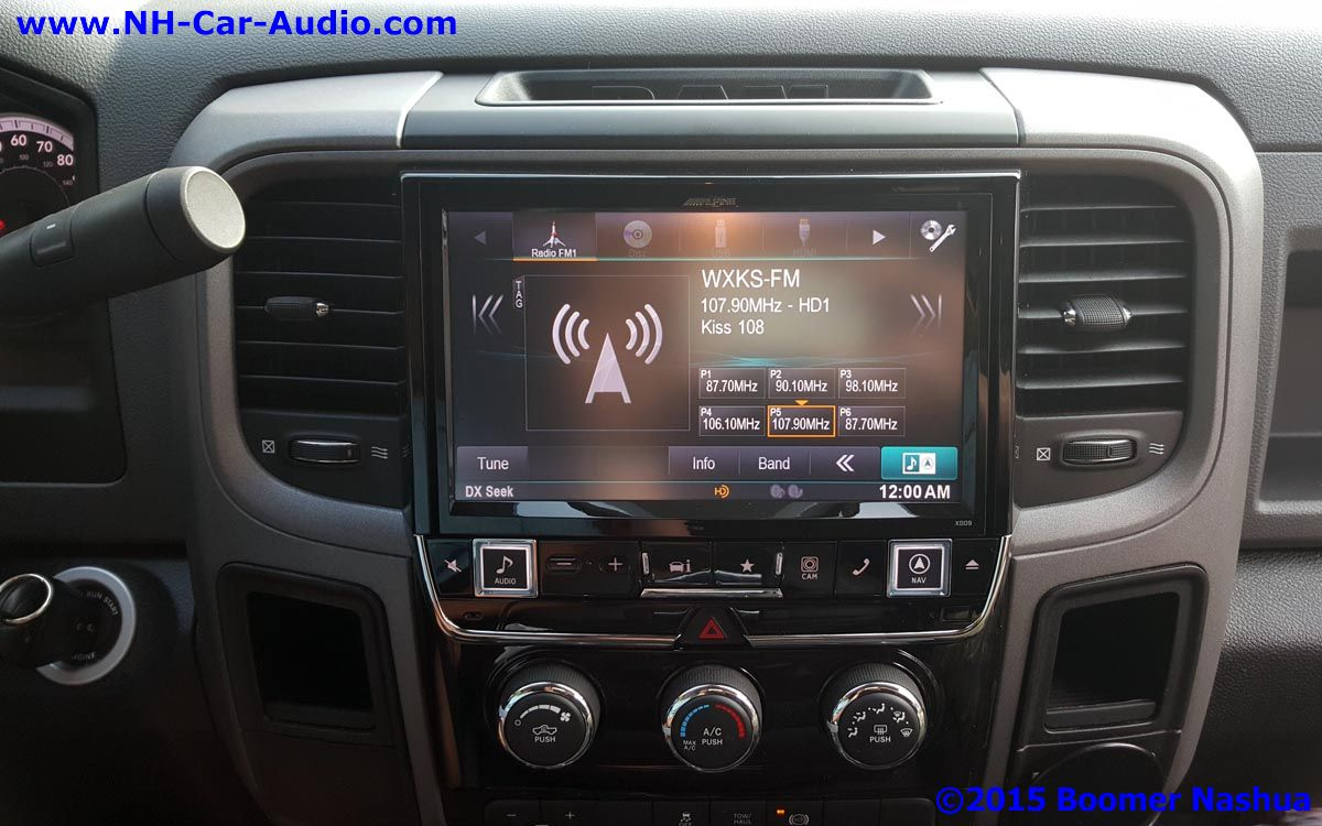 Dodge Ram After Alpine Restyle Multimedia System Boomer