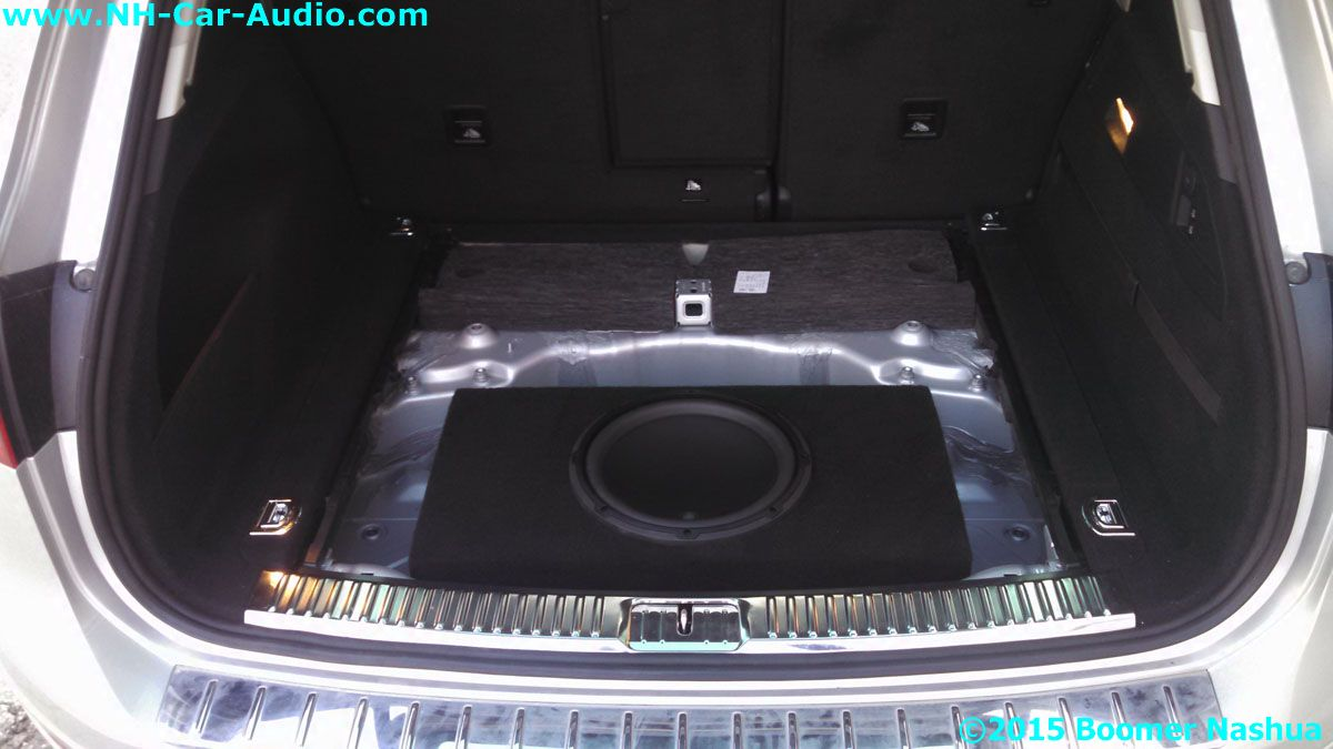 Vw Of Salem >> VW-Tiguan-12-inch-subwoofer-in-spare-tire-well - Boomer Nashua Mobile Electronics