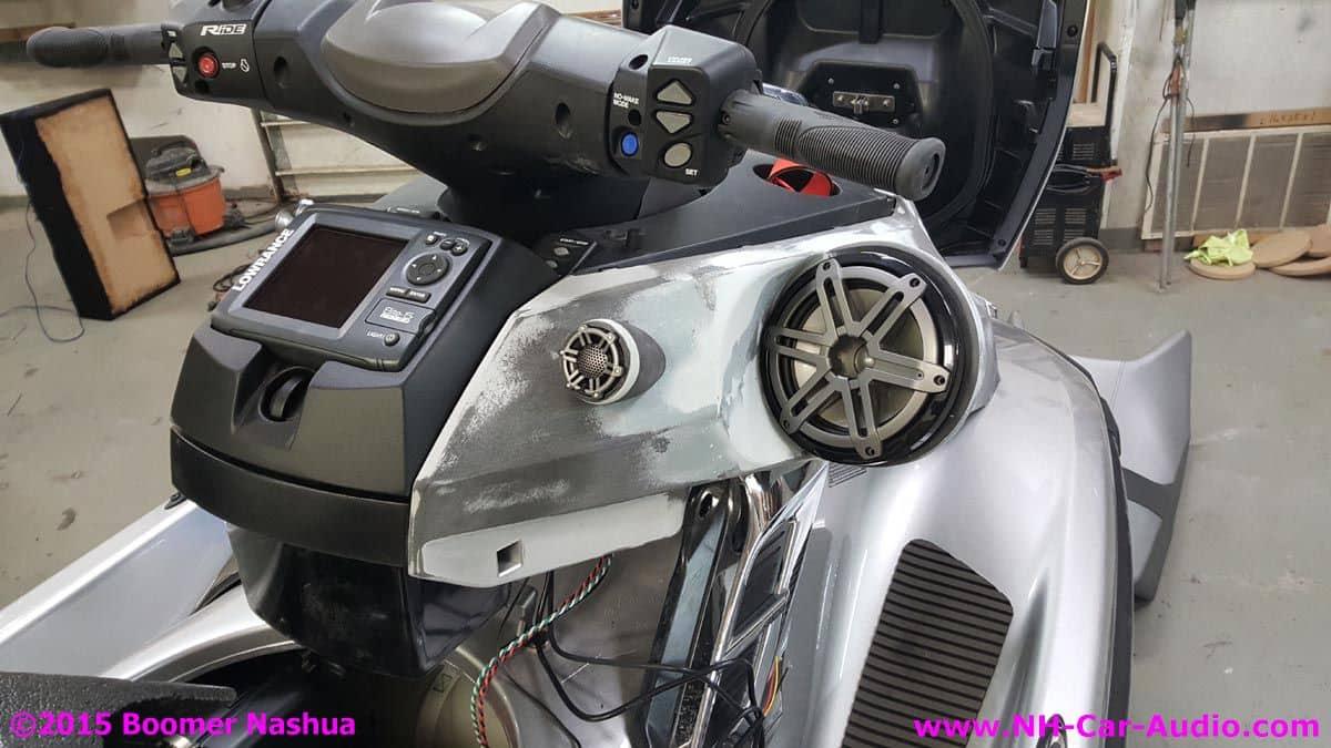 Pyle - RBPLATV550BT - 500 Watts ATV/UTV/Jet Ski/Snowmobile ...  Jet Ski Stereo Systems