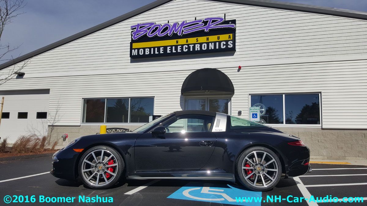 Porsche 911 targa rear view camera installation boomer for Camera targa