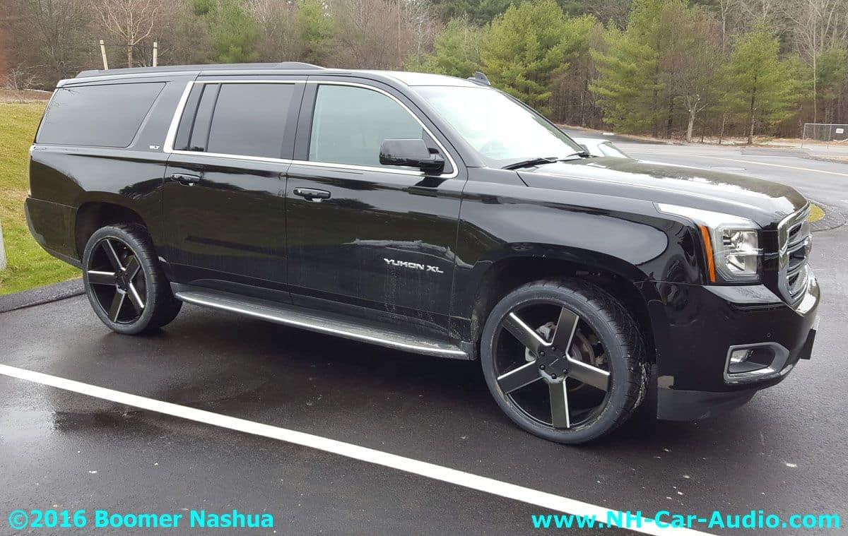 Car Starter App >> GMC-Yukon-KMC-24-inch-wheels - Boomer Nashua Mobile Electronics