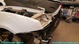 Lamborghini-Gallardo-remove-black-wrap-install-new-LP4-rear-bumper