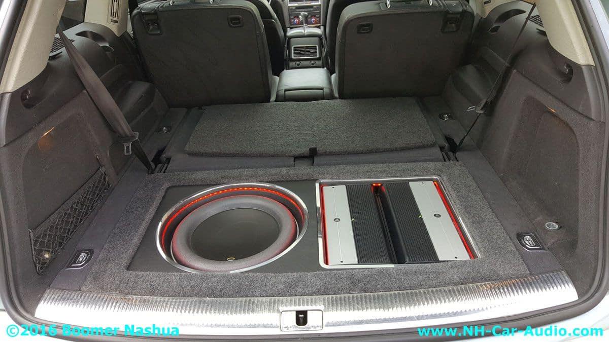 Audi Q7 Jl 13 5w7 Subwoofer Boomer Nashua Mobile Electronics