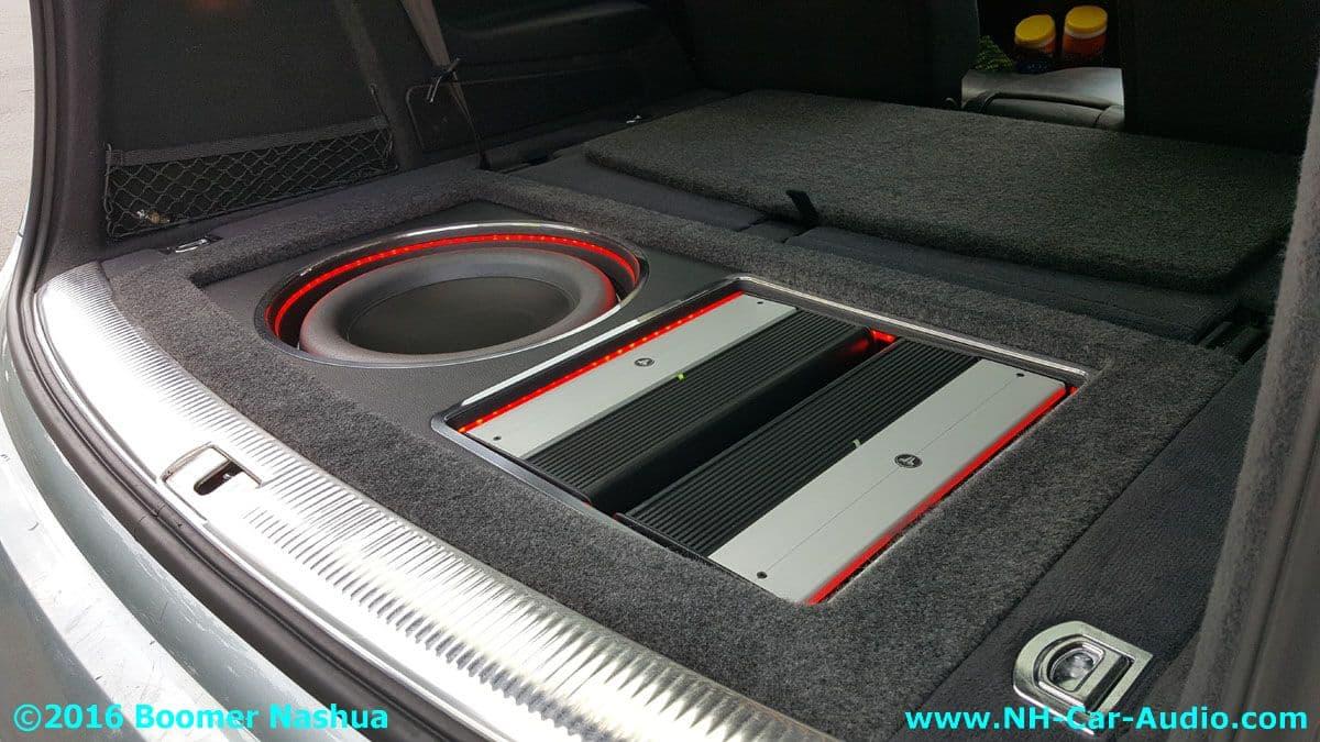 Audi Q7 Premium Handmade Hidden Subwoofer Boomer Nashua