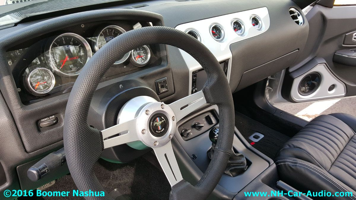 mustang fox body race ready dash boomer nashua mobile electronics. Black Bedroom Furniture Sets. Home Design Ideas