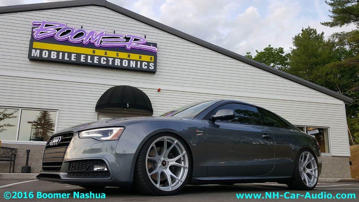 Audi A4 Wheel Stance Boomer Nashua Mobile Electronics
