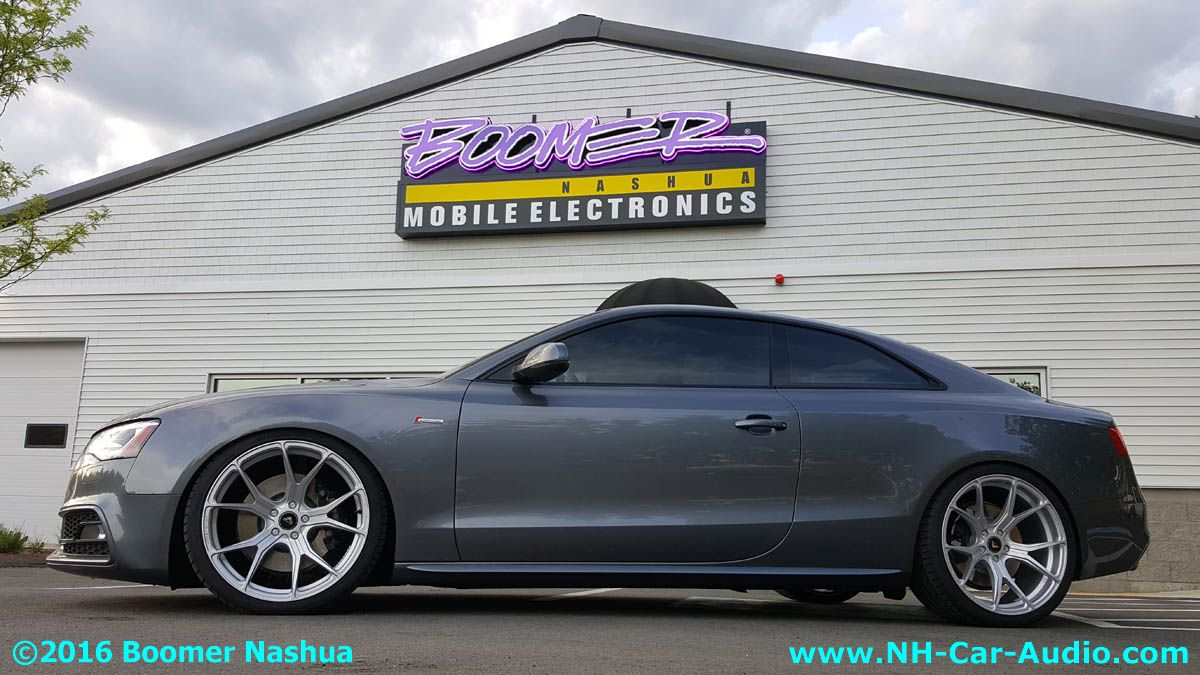 Audi A5 Custom Wheels Boomer Nashua Mobile Electronics