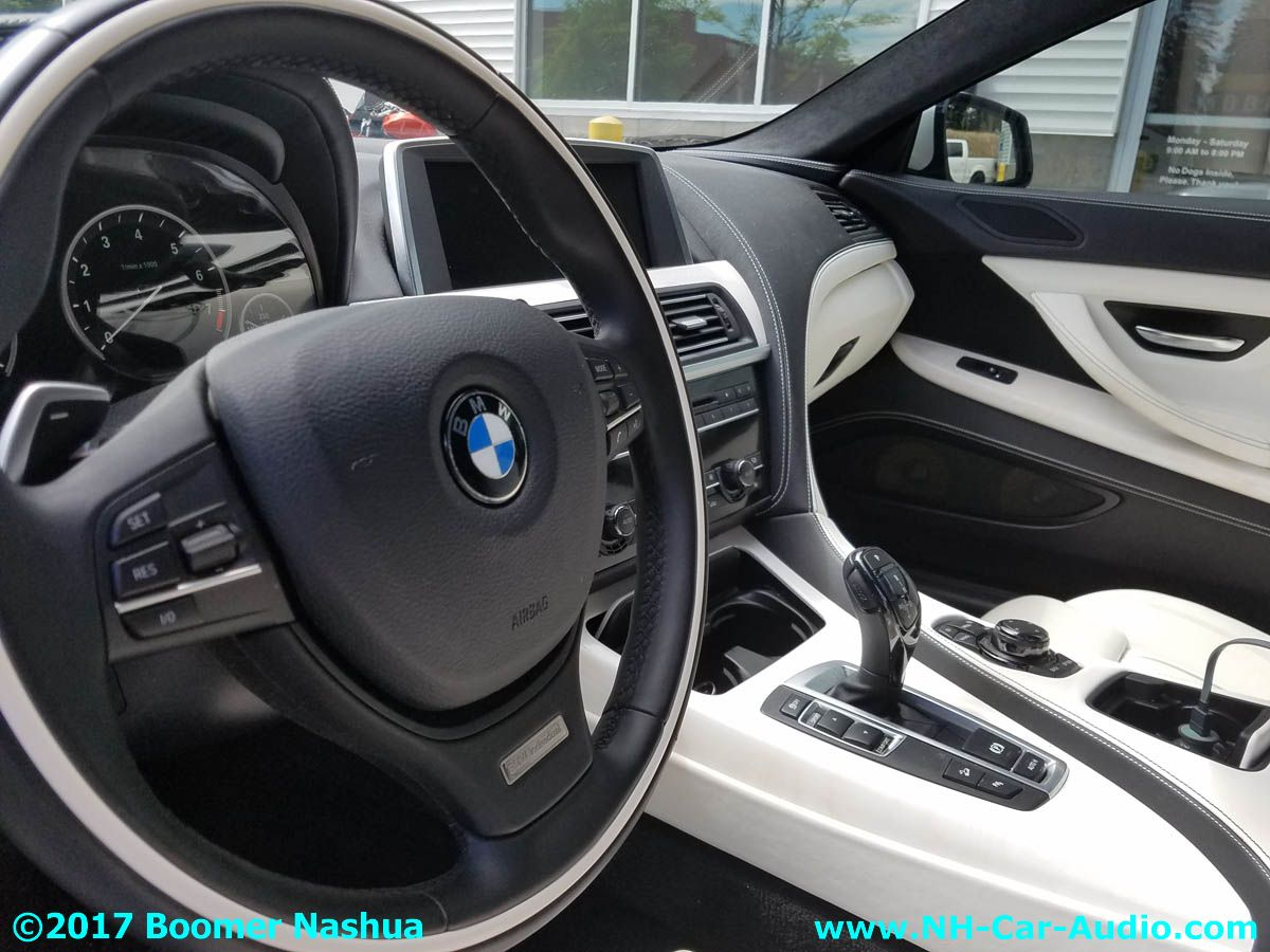 bmw 6 build your own individual one off interior boomer nashua mobile electronics. Black Bedroom Furniture Sets. Home Design Ideas